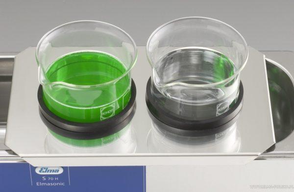 Elmasonic S70H CoverWithAperture GlassBeaker FM22383