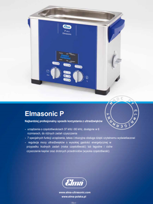 Broszura Elmasonic P