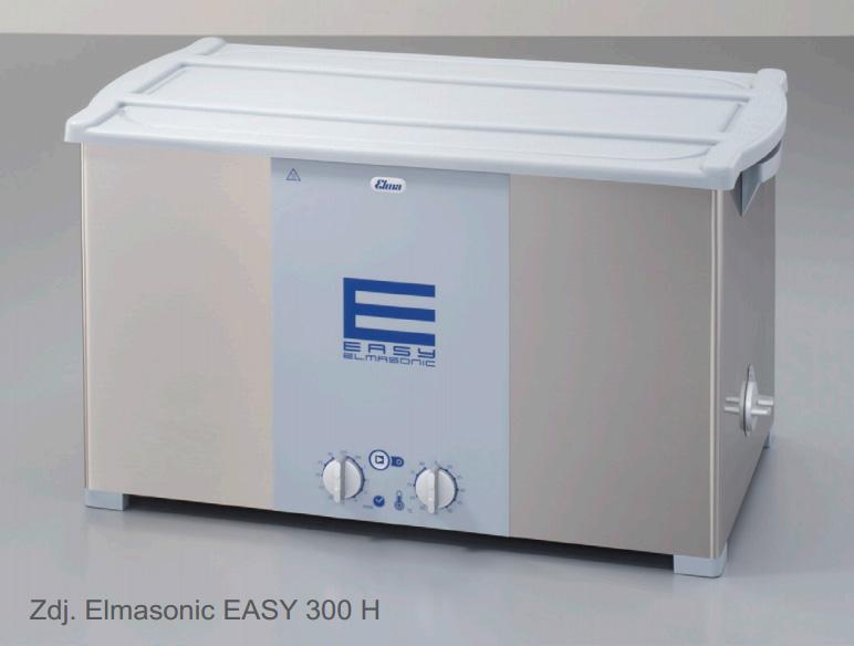 Myjka ultradźwiękowa Elmasonic Easy 300/H