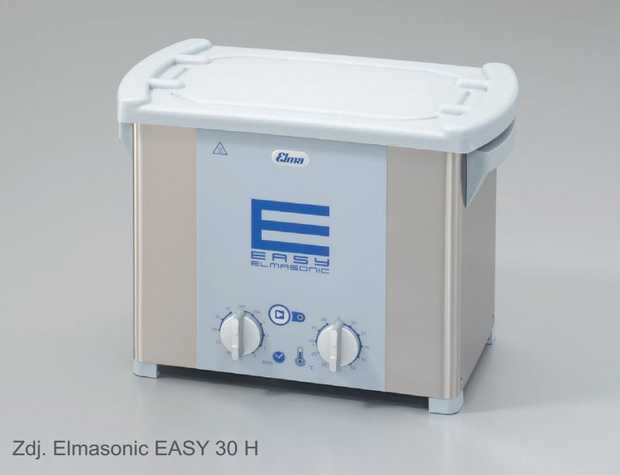 Myjka ultradźwiękowa Elmasonic Easy 30/H