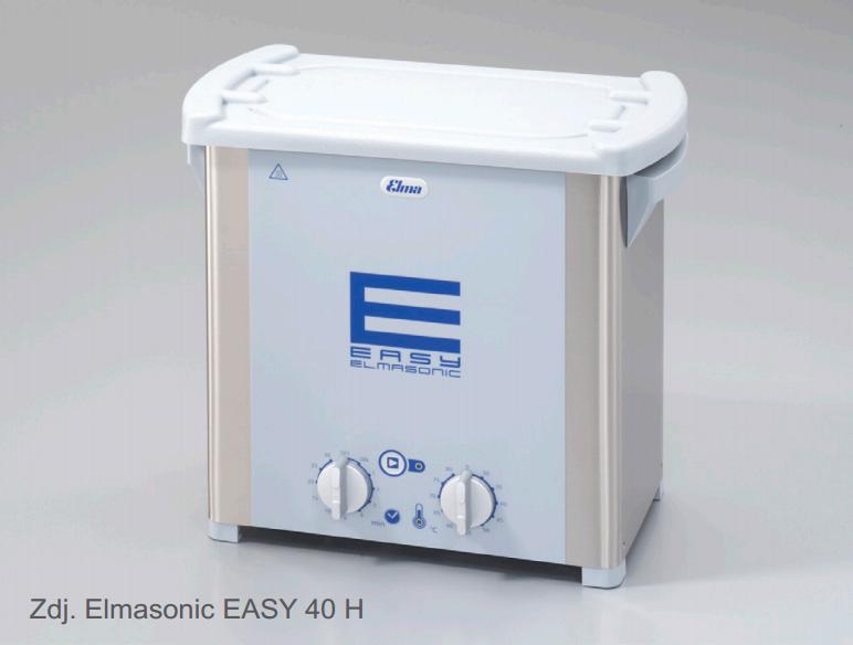 Myjka ultradźwiękowa Elmasonic Easy 40/H